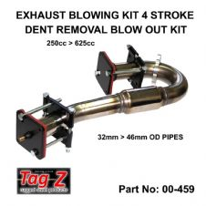New Tag-Z Exhaust Dent Blow Out Kit 4 Stroke